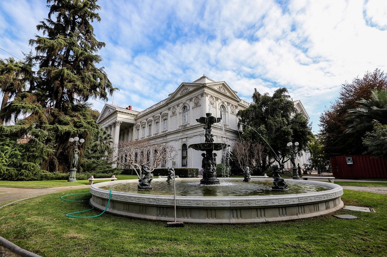 Imagen del Palacio de la Moneda