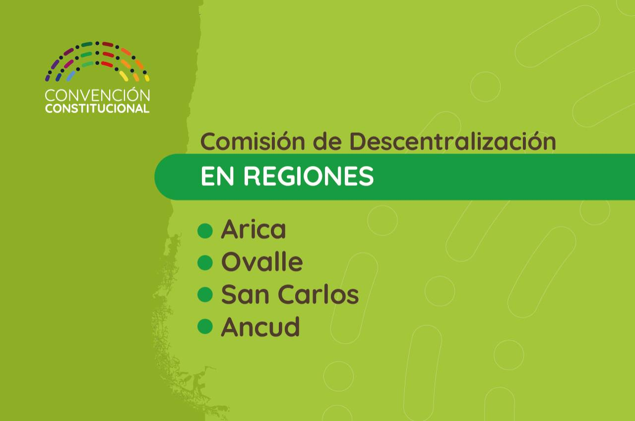Comisión de Descentralización en regiones