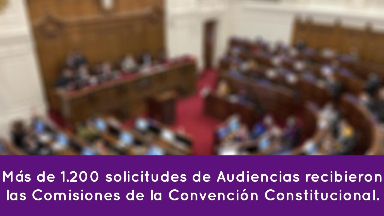 1200 solicitudes de Audiencias Públicas recibidas