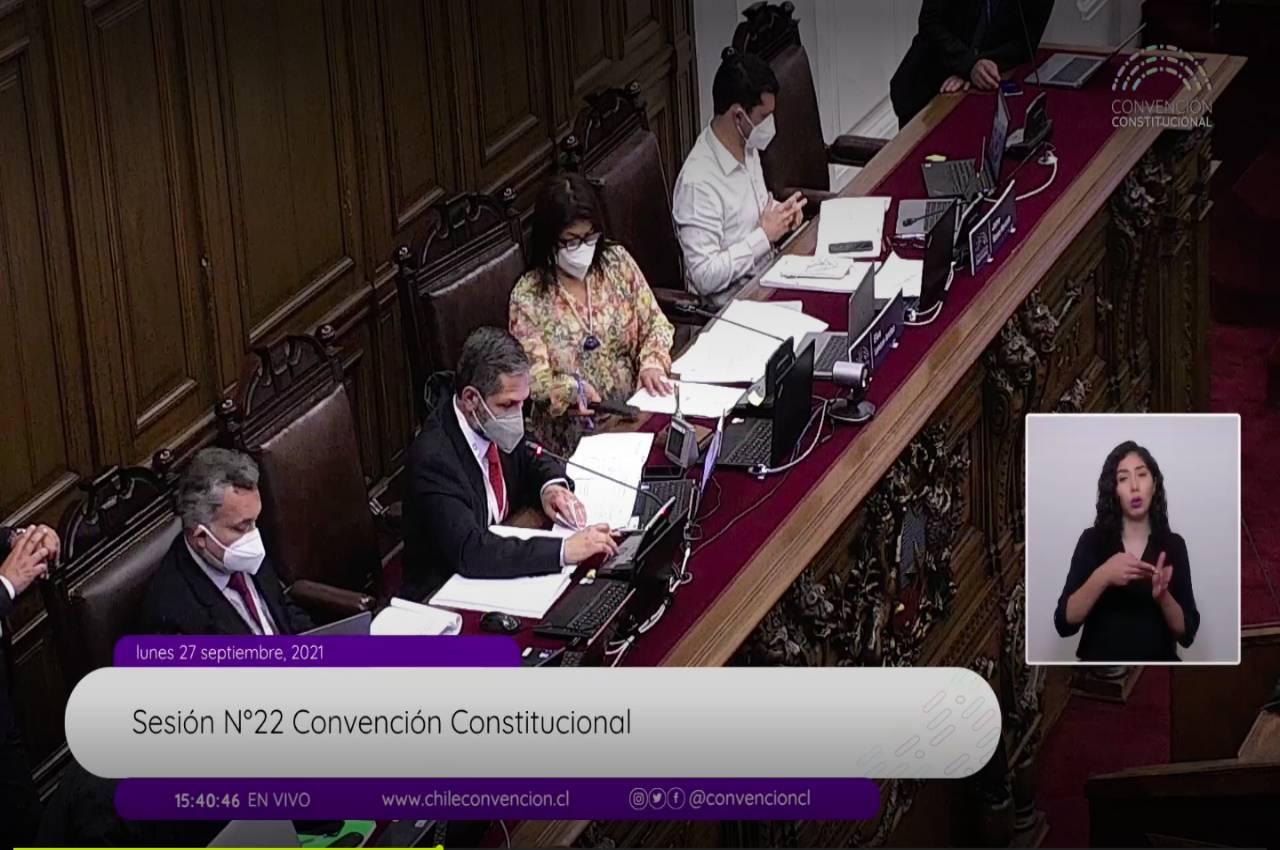 Convención Constitucional continuó votaciones al reglamento
