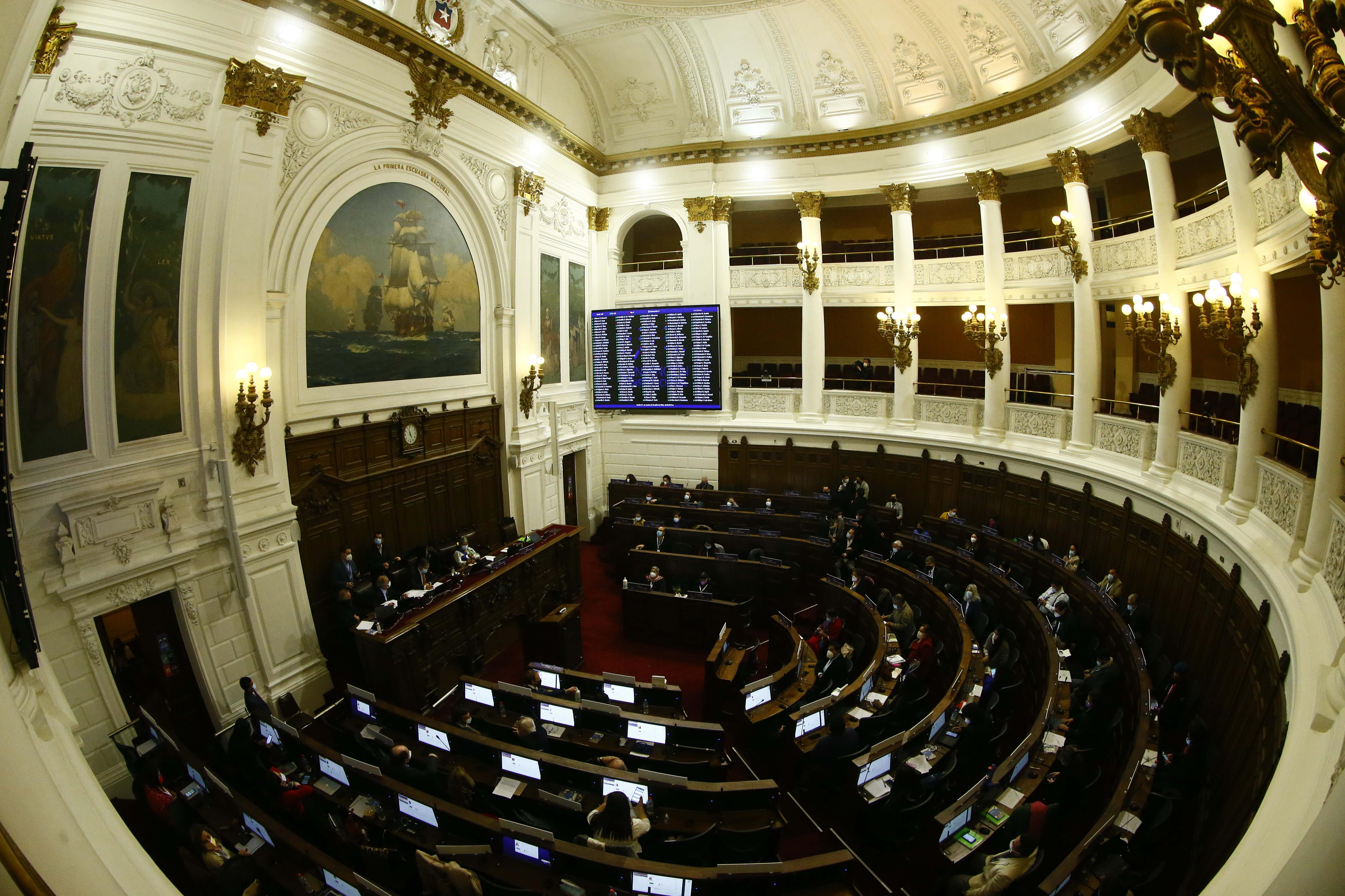Plano general Hemiciclo Convención Constitucional