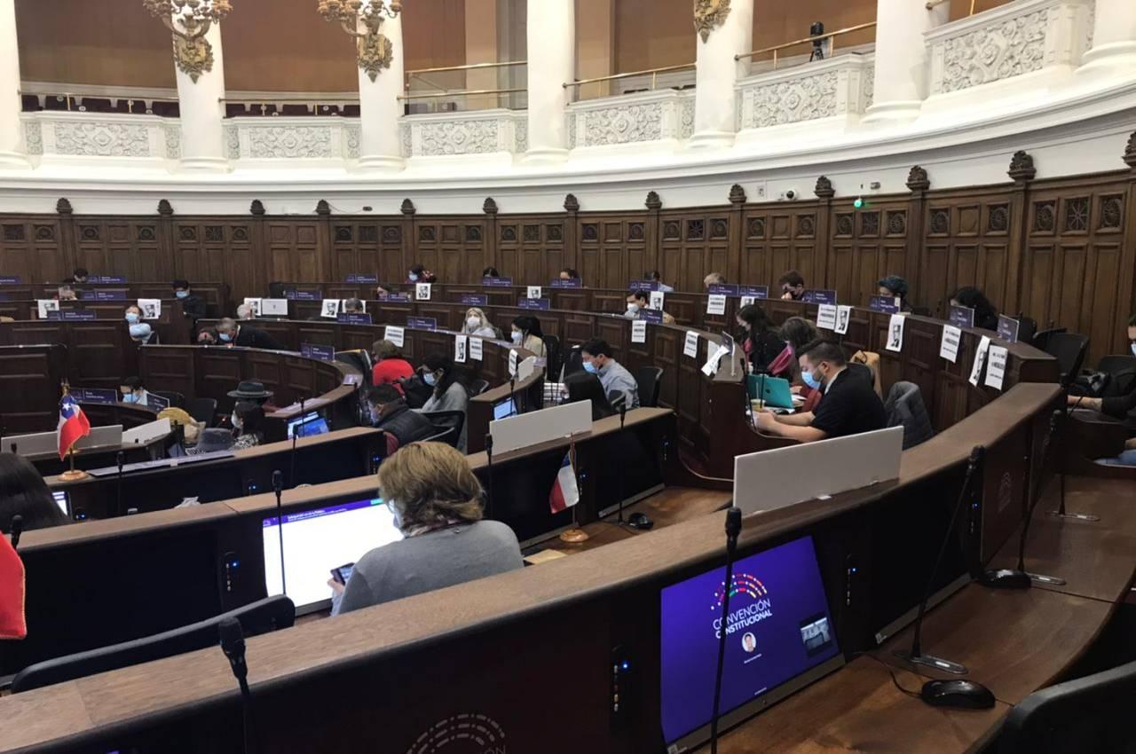 Pleno de la Convención finaliza debates sobre reglamento