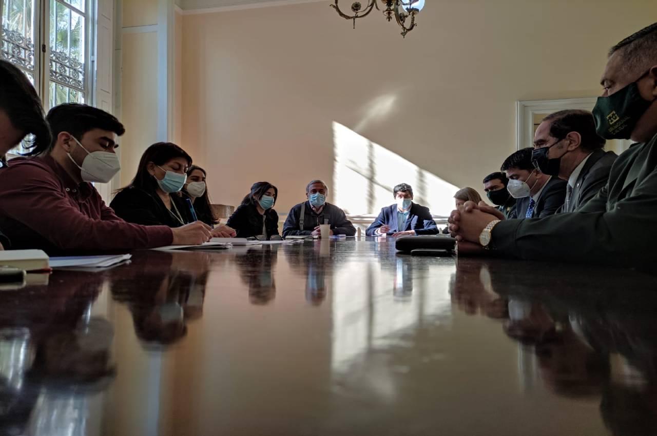 Convención acuerda mesa de trabajo con Ministerio de Justicia