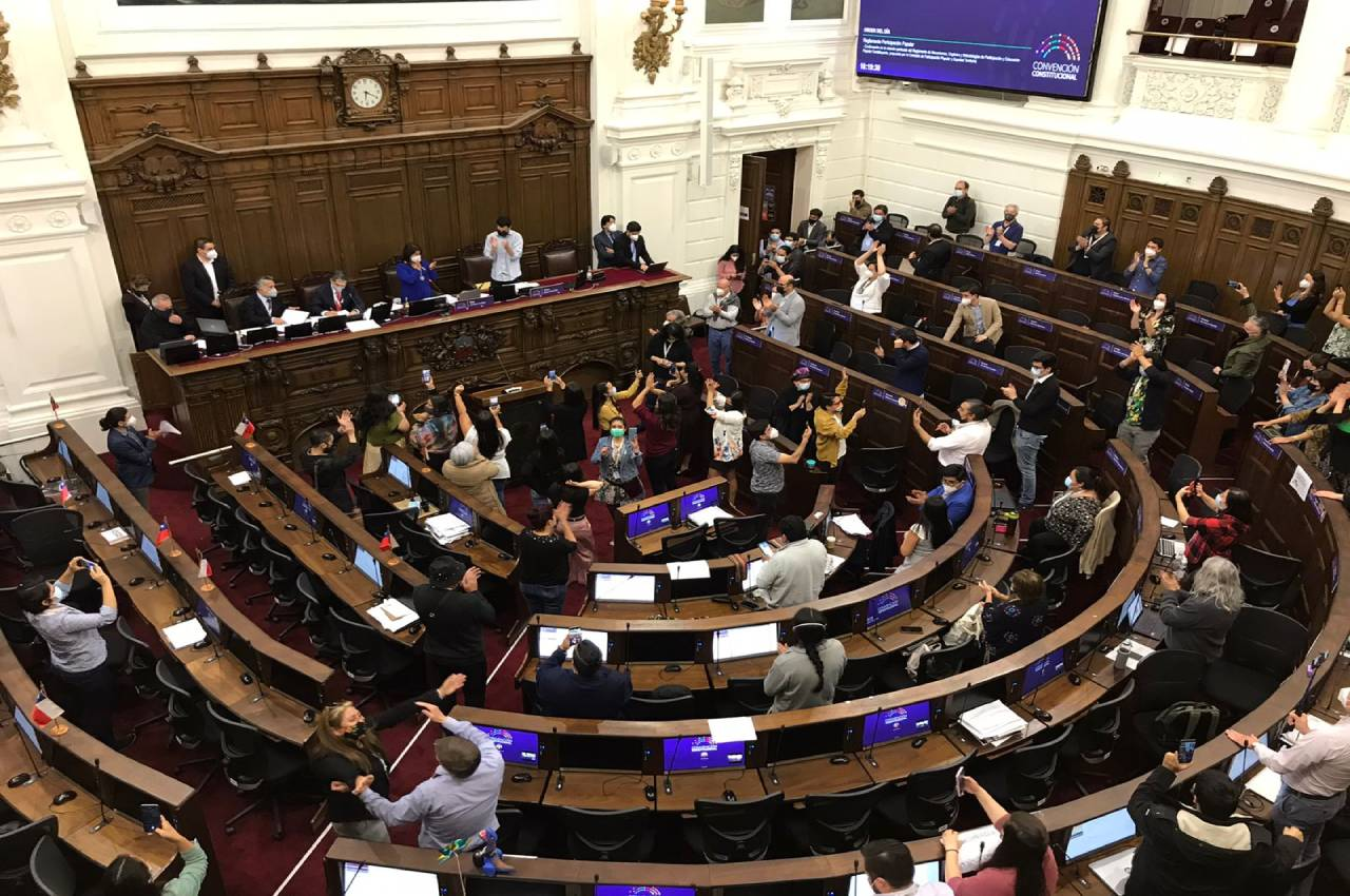 Convención iniciaría el 18 de octubre debate constituyente